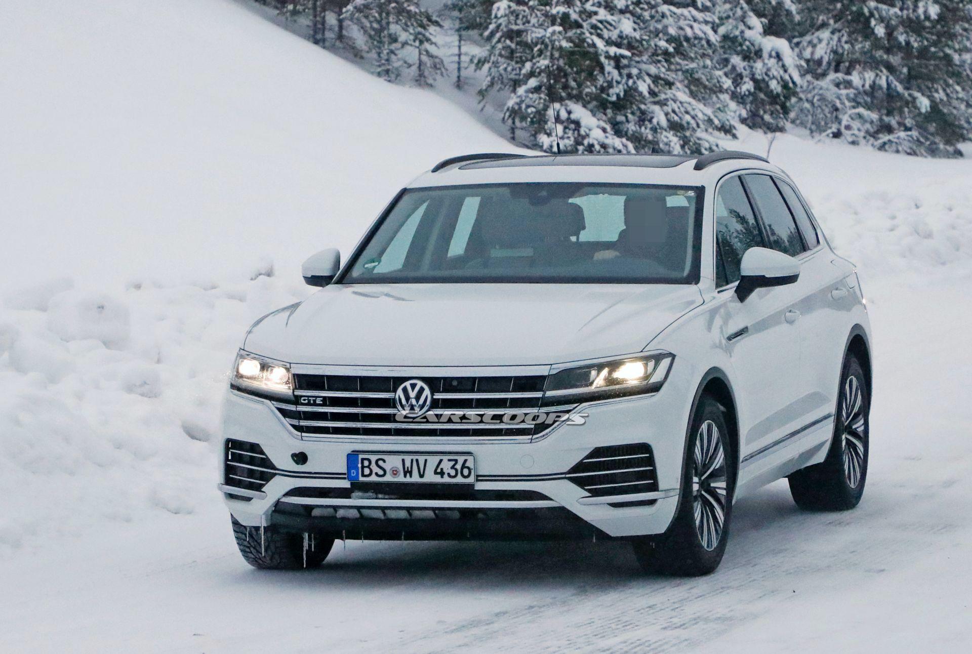 VW Touareg GTE