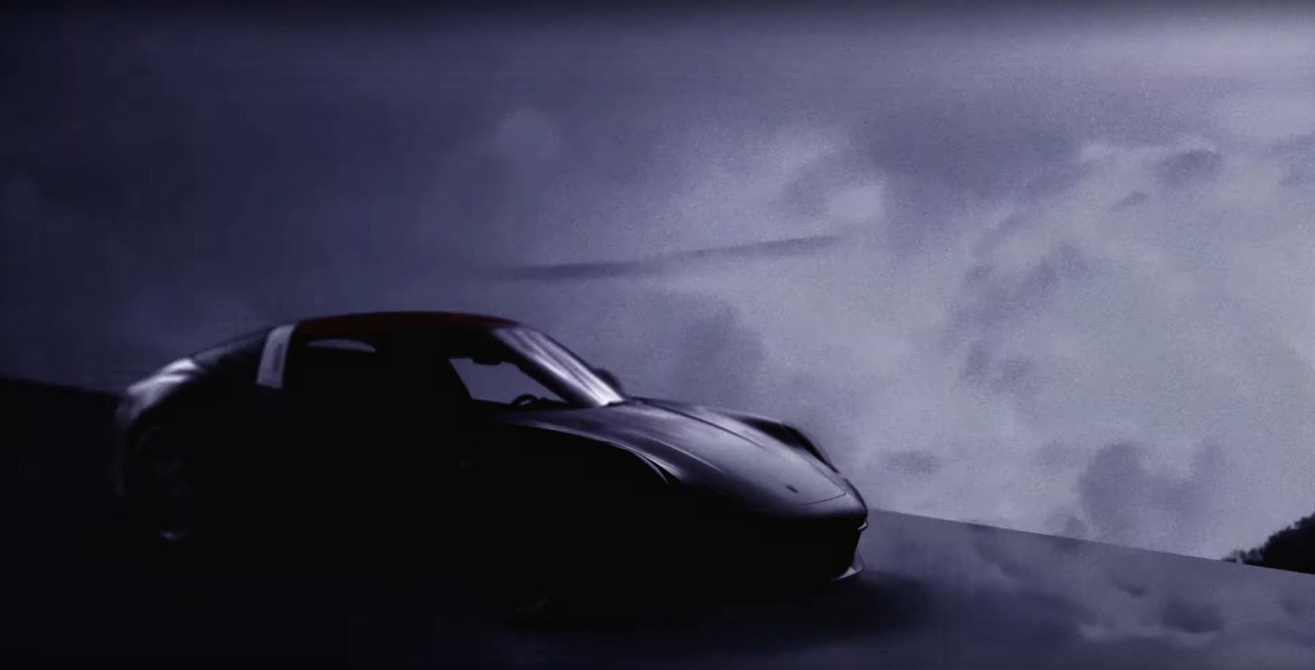 Teaser Porsche 911 Targa