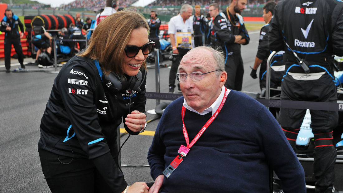 Claire e Frank Williams
