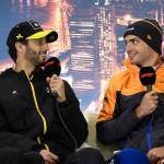 Daniel Ricciardo e Carlos Sainz Jr