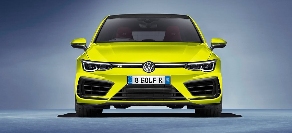 VW Golf R Plus na calha