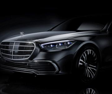 Teaser oficial do novo Mercedes-Benz Classe S
