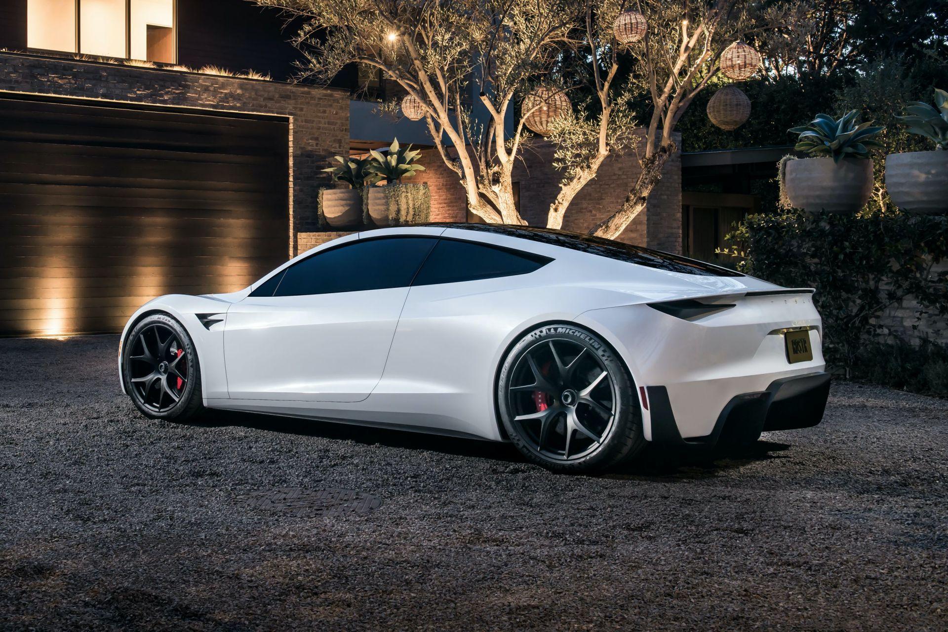 Protótipo do Tesla Roadster