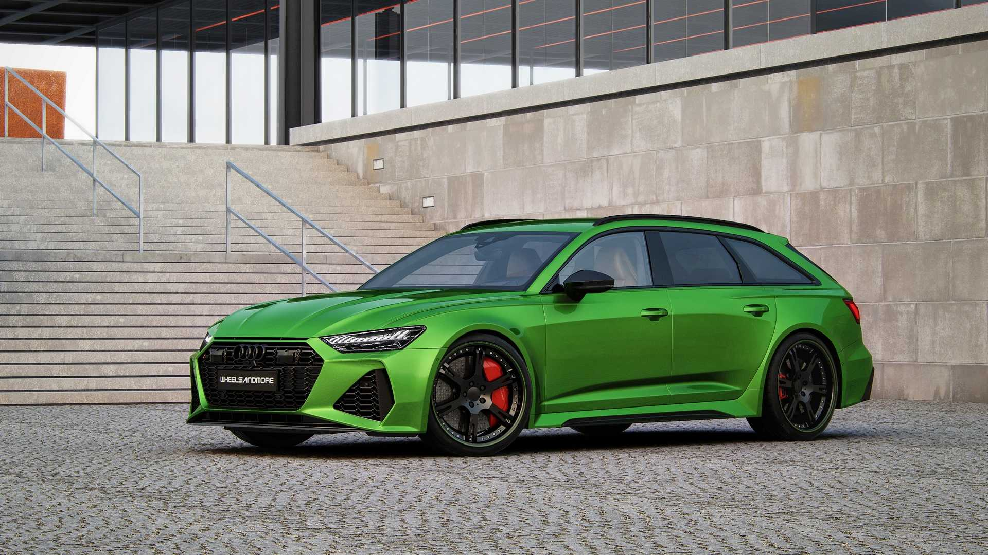 Audi RS6 Avant by Wheelsandmore