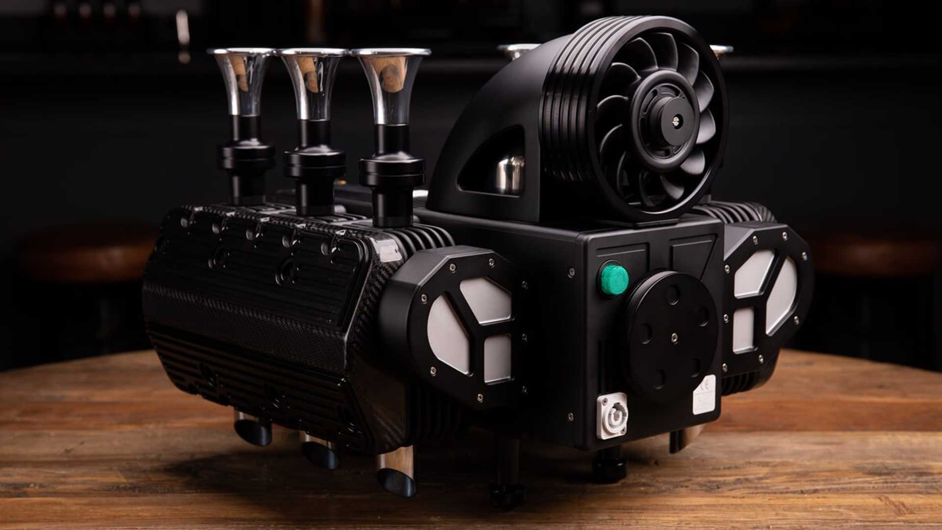Super Veloce Espresso Veloce RS Black Edition