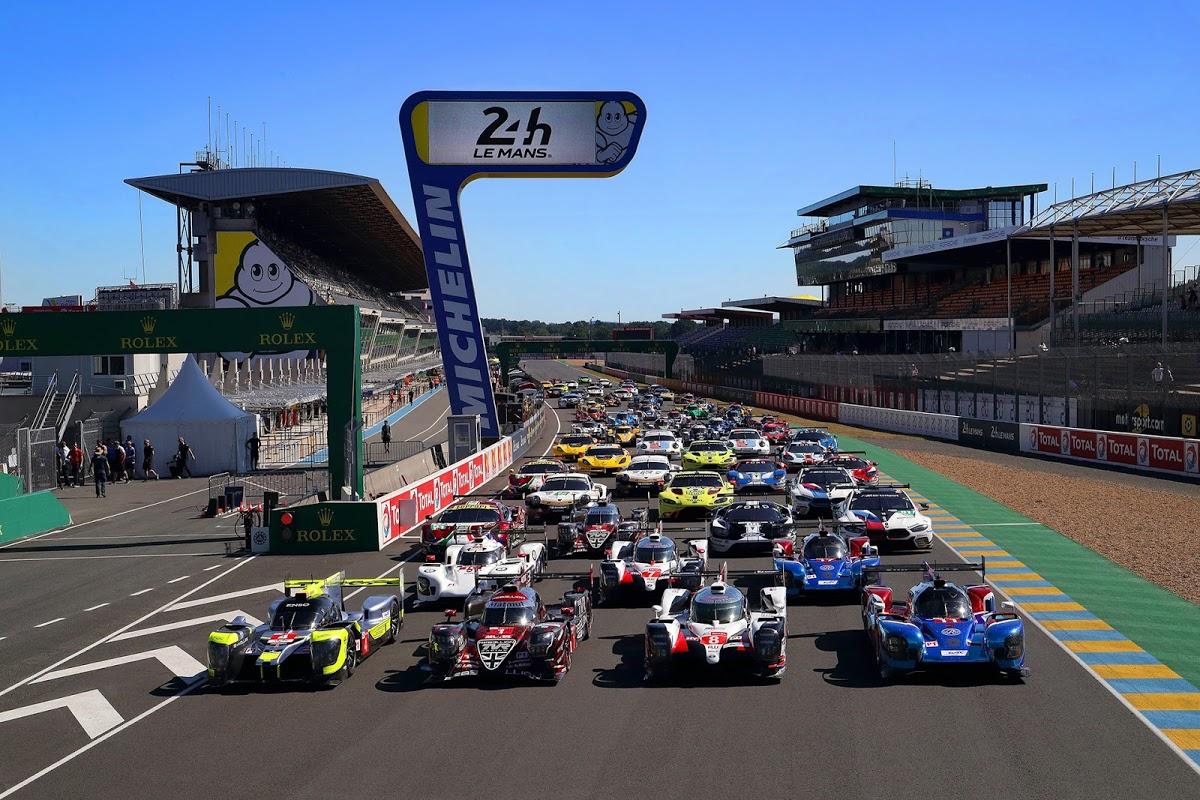 Grelha de partida das 24 Horas de Le Mans