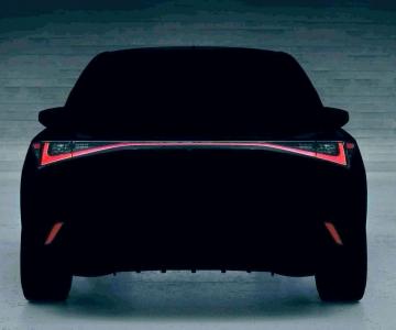Lexus IS teaser