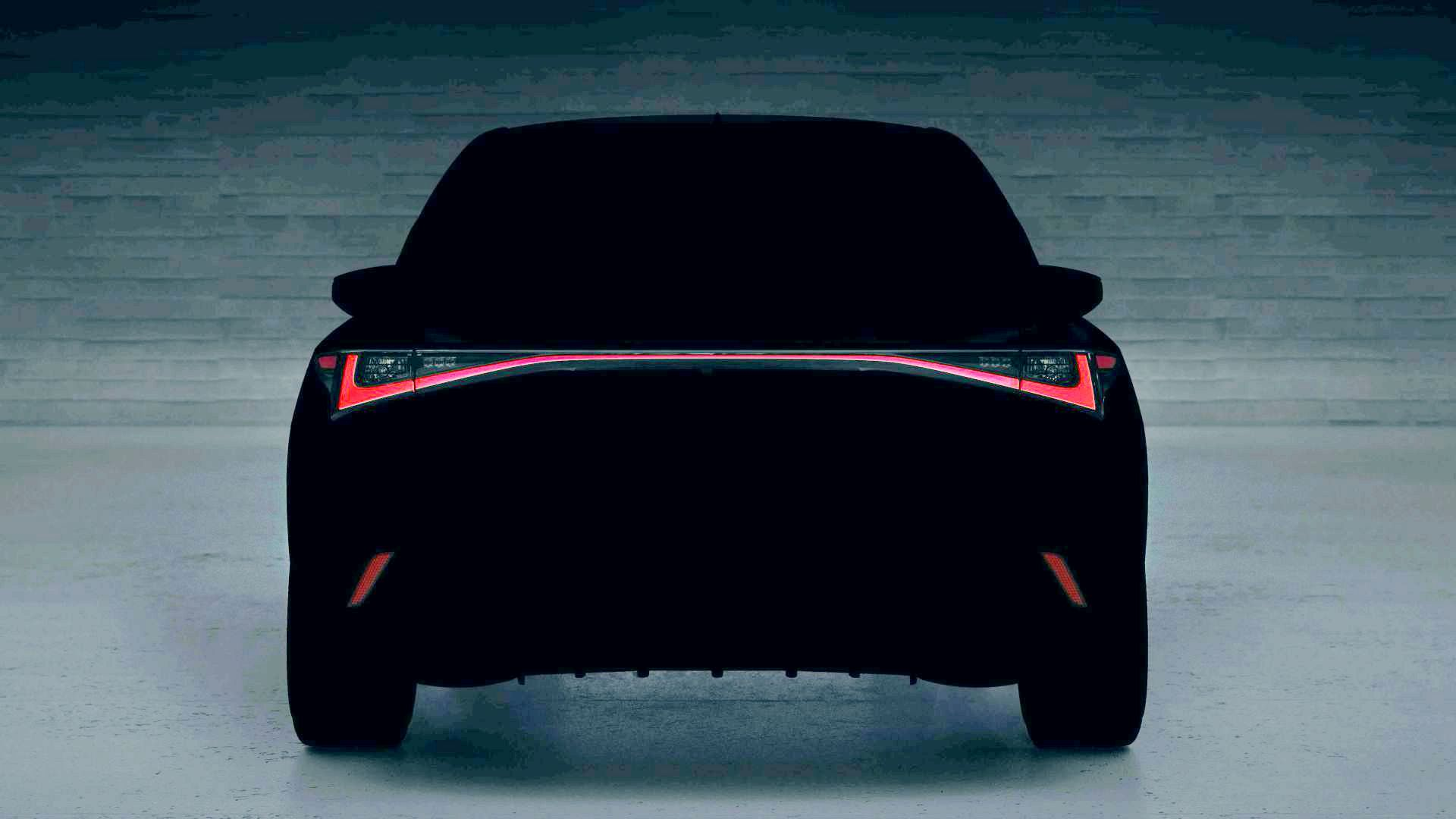 Lexus IS teaser