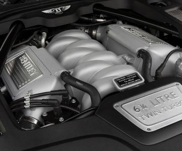Motor 6.75 litros da Bentley