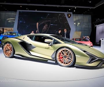 O Sián foi o último Lamborghini a ser apresentado num grande salão internacional