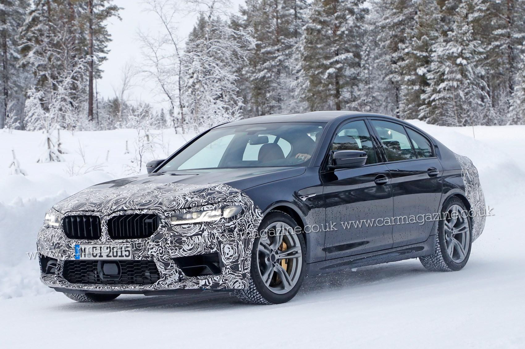 Foto espia do BMW M5