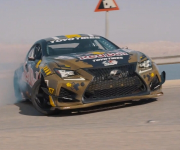 Lexus RC F Drift Car