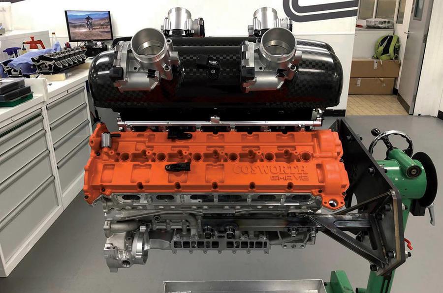 Motor V12 do T.50