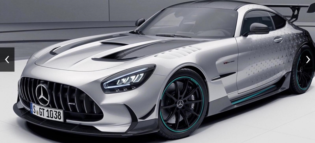 Mercedes-AMG GT Black Series P-One Edition