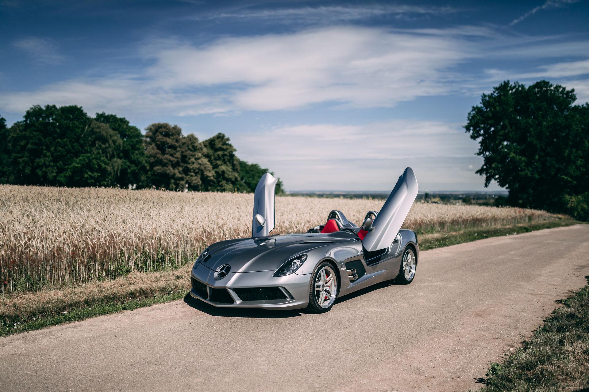 Mercedes SLR McLaren Stirling Moss