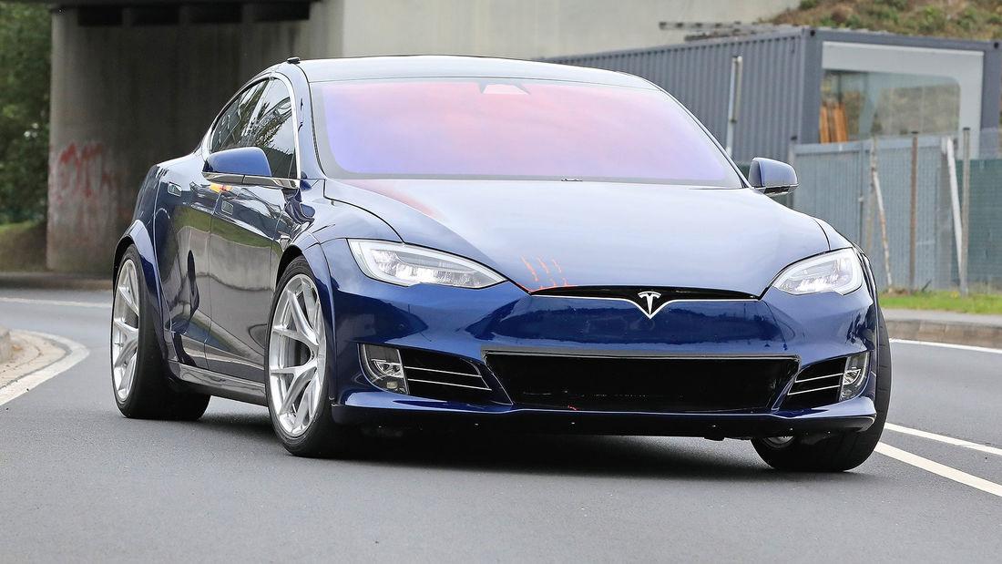 Tesla Model S em Nürburgring