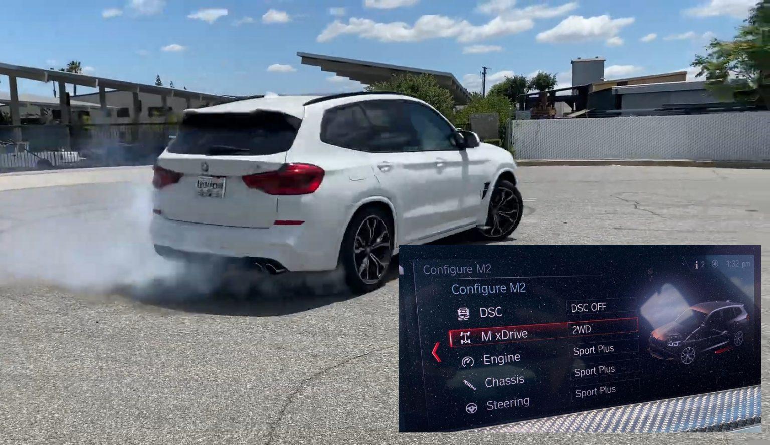BMW X3 M em ação