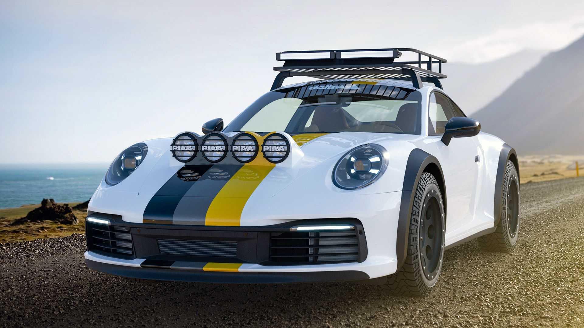 Delta 4x4 Porsche 911 992