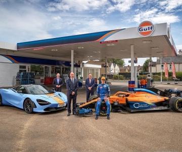 McLaren e Gulf Oil International assinam nova parceria