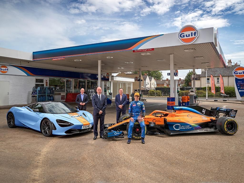 McLaren e Gulf Oil International assinam nova parceria