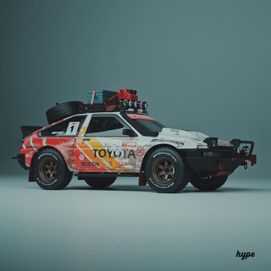 Pandemic Toyota AE86