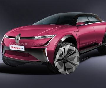 Render do Renault Zandar