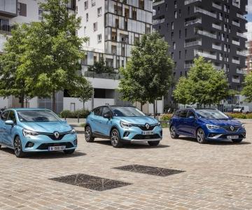 Novos híbridos e-Tech da Renault