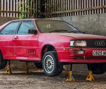 Audi Quattro UR Turbo 10V de 1985