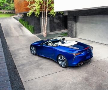 Lexus LC500 Convertible Regatta Edition
