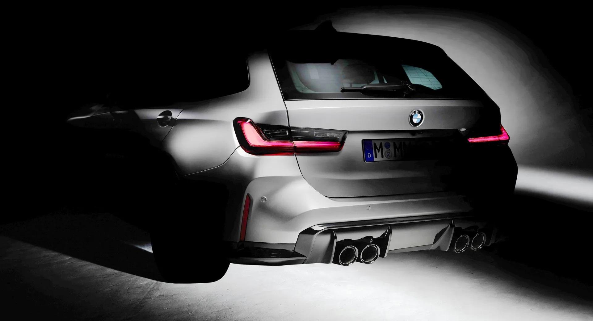Primeira imagem da M3 Touring