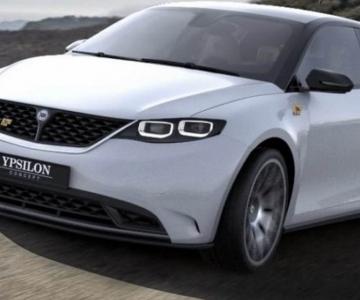 Render do novo Lancia Ypsilon