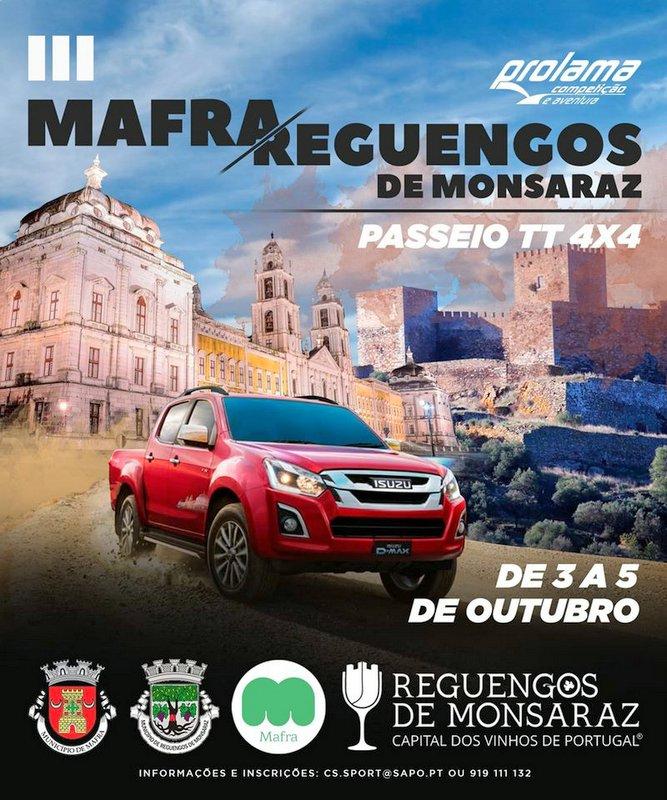 III Passeio TT Mafra-Reguengos de Monsaraz