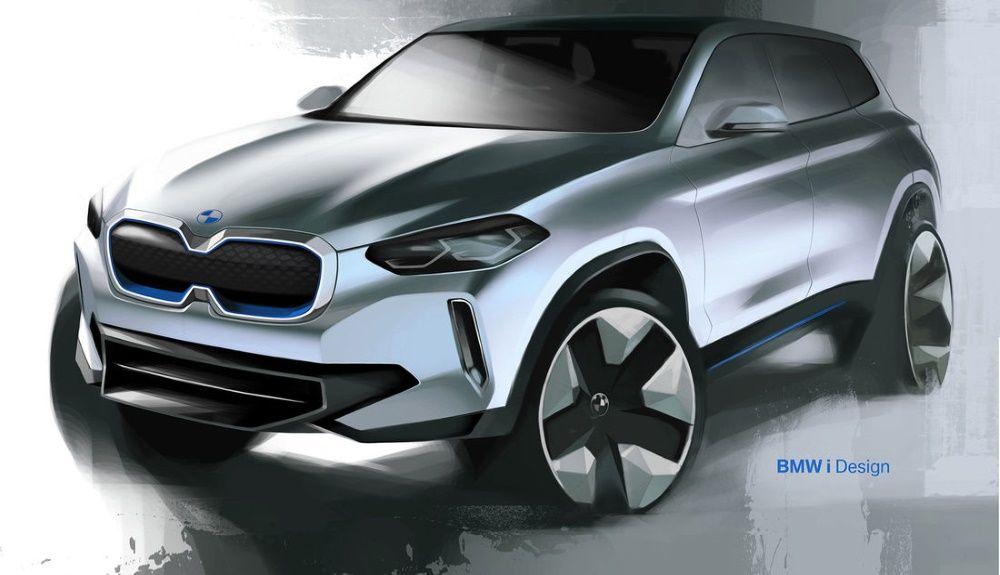 Ilustração do próximo BMW X1