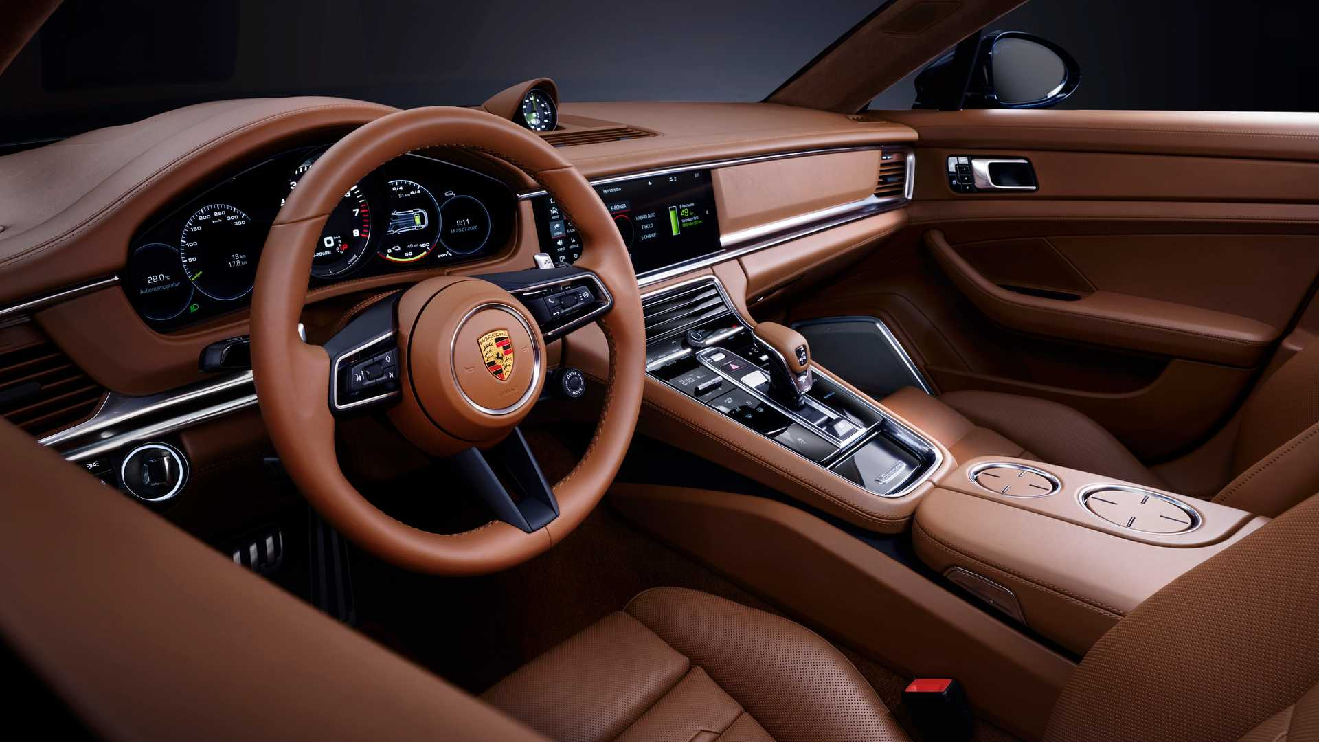 Renovado Porsche Panamera Traz Versao Turbo S De 630 Cv Auto Drive