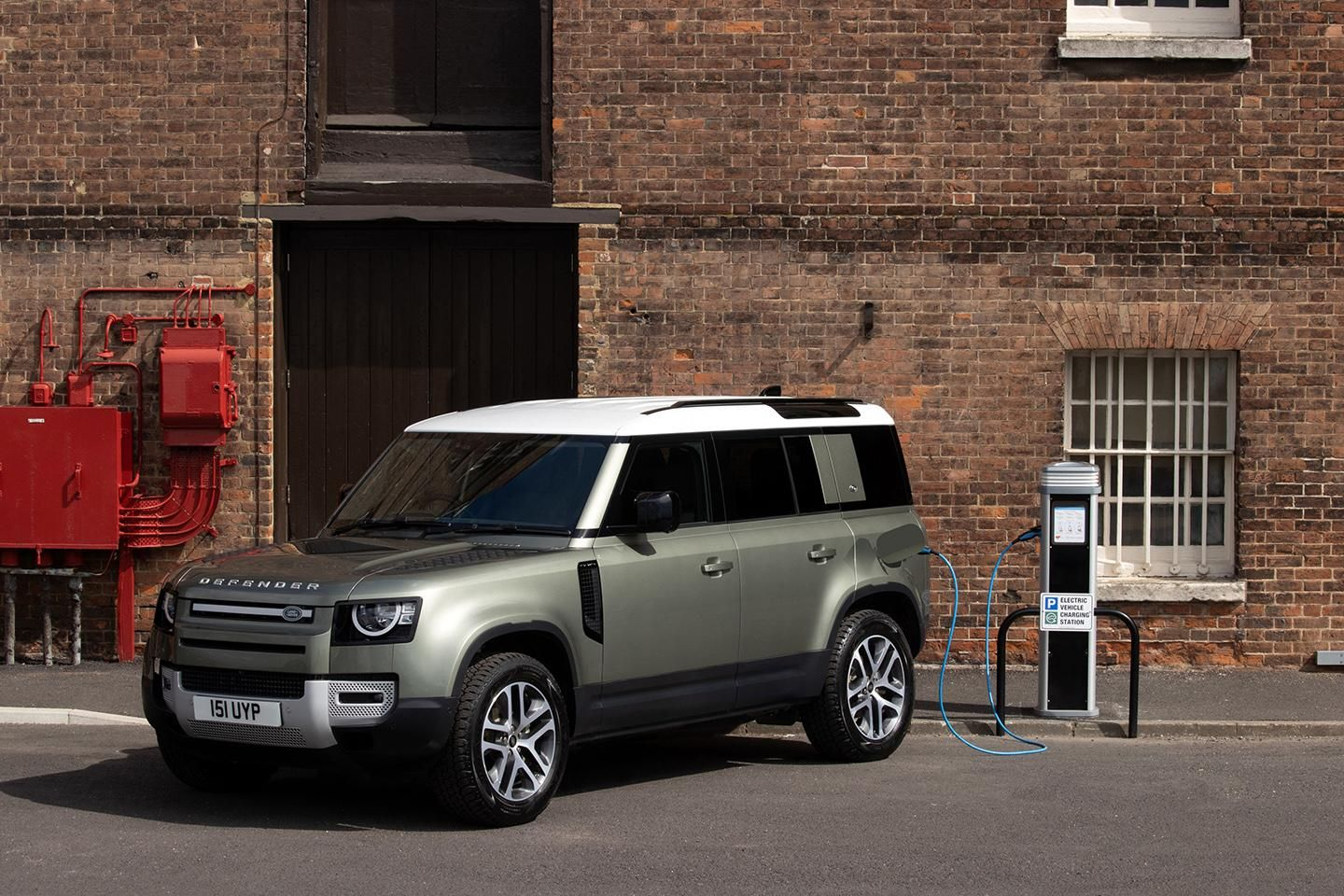 Land Rover Defender híbrido plug-in