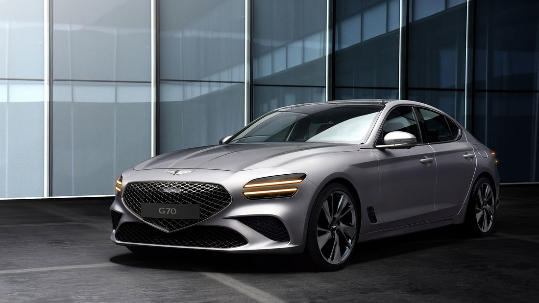 Genesis G70 facelift