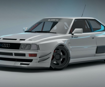 Audi RS2 Coupé Widebody by Prior Design