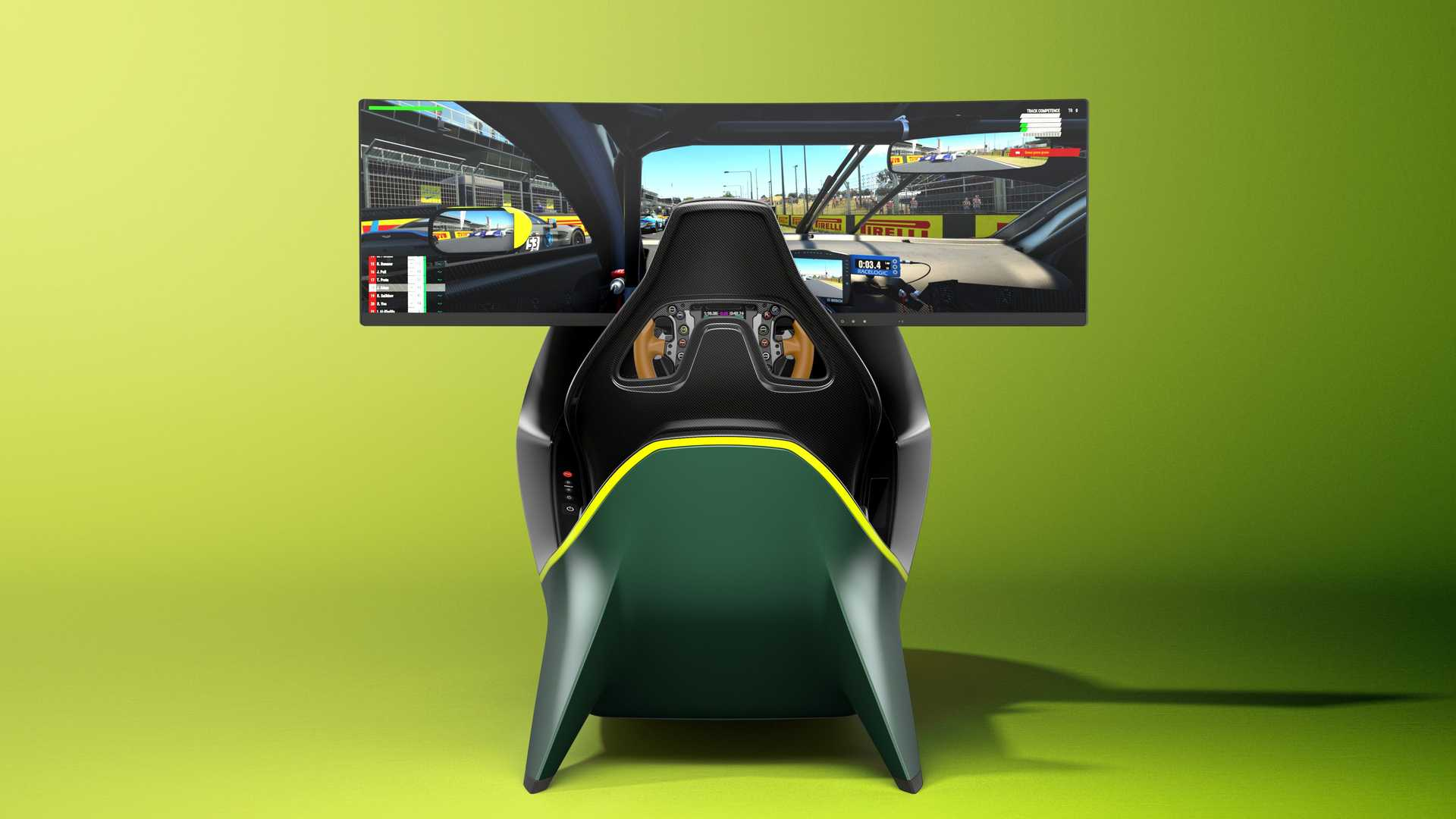 Aston Martin AMR-C01 simulador