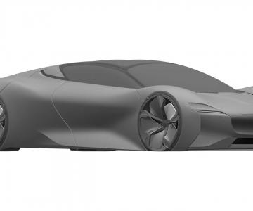 Patente mostra novo supercarro da Jaguar