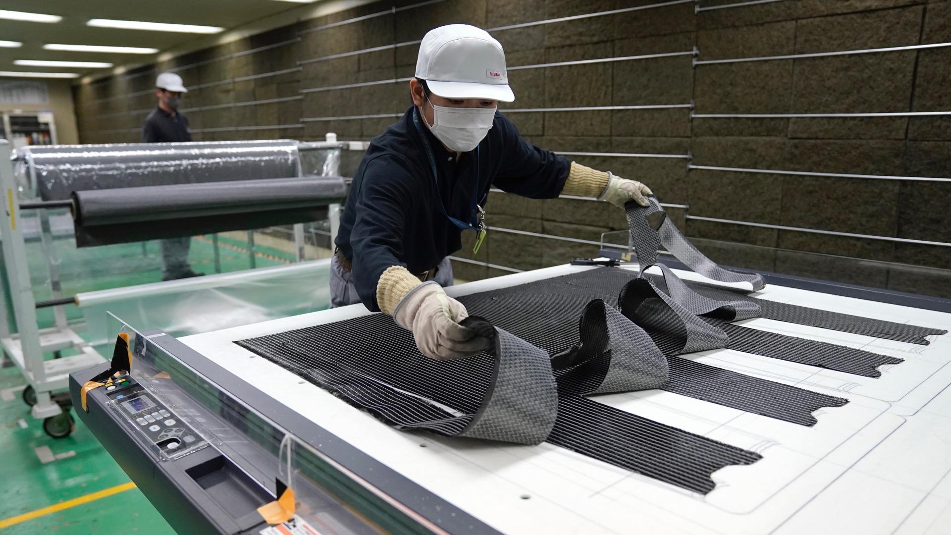 Nissan testa novo processo de produção de fibra de carbono