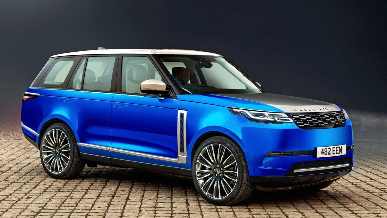 Render do novo Range Rover elétrico