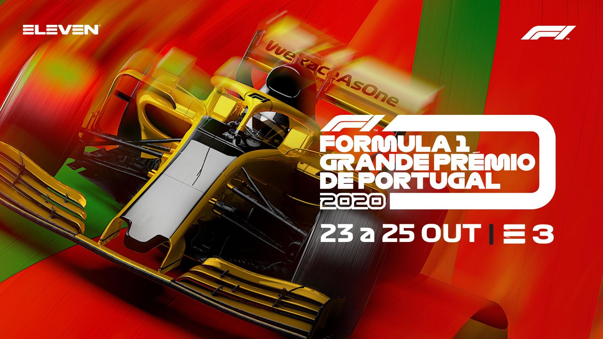 Cartaz do G.P. de F1 de Portugal 2020