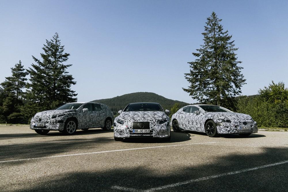 Protótipos dos novos Mercedes-Benz EQ