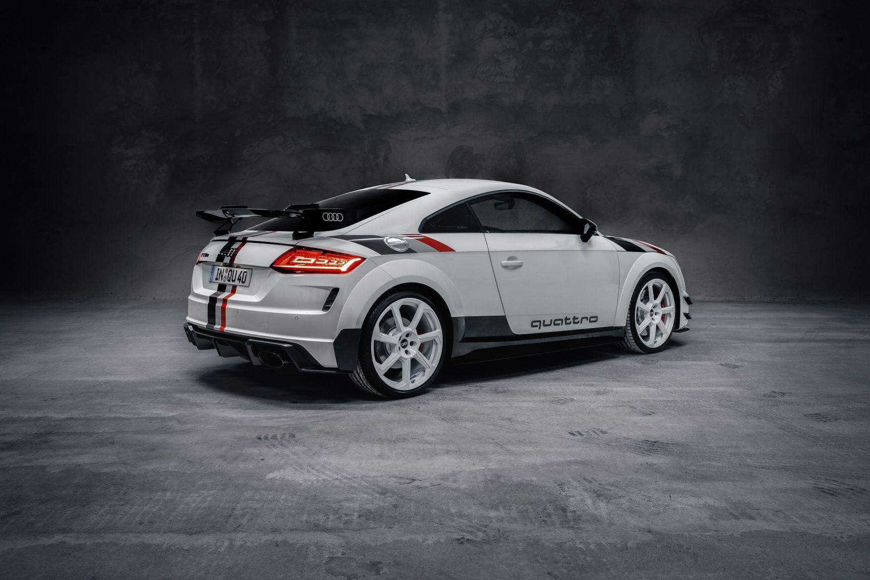 Audi TT RS quattro 40 Jähre