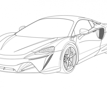 Patente do McLaren P16