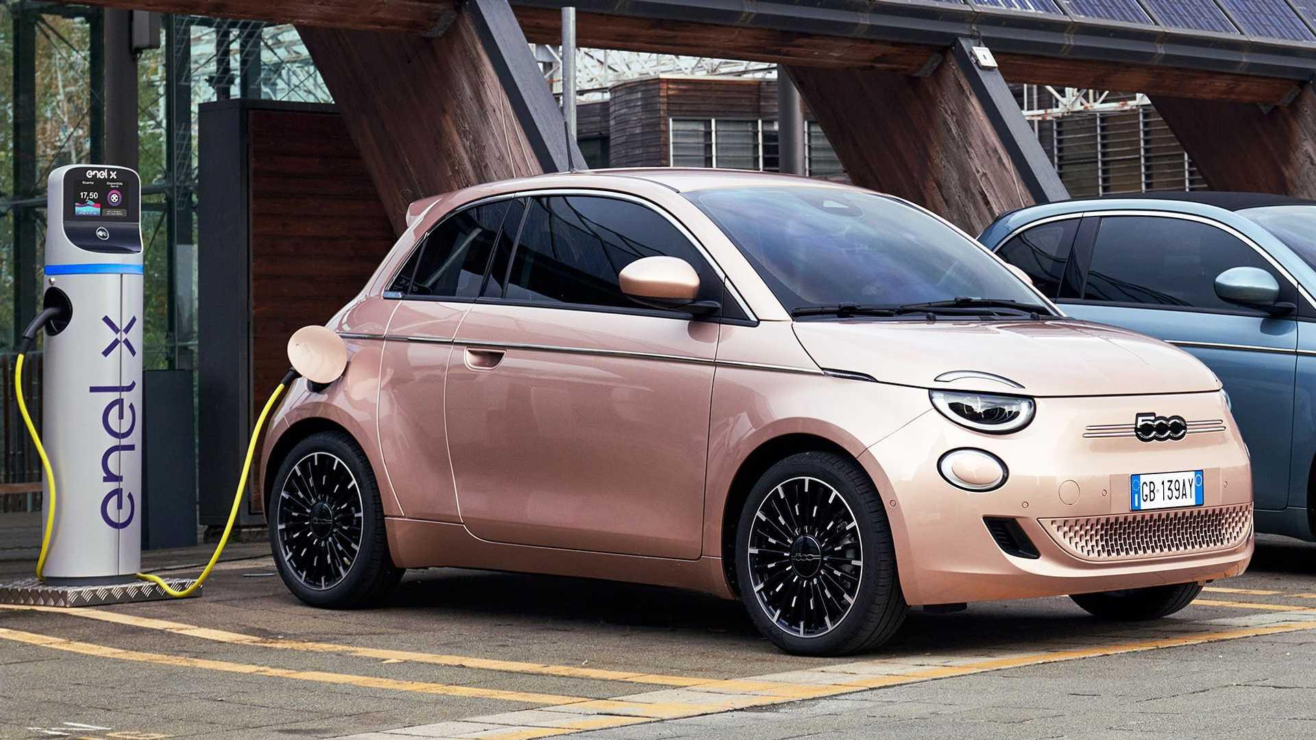 Fiat 500 elétrico 3+1