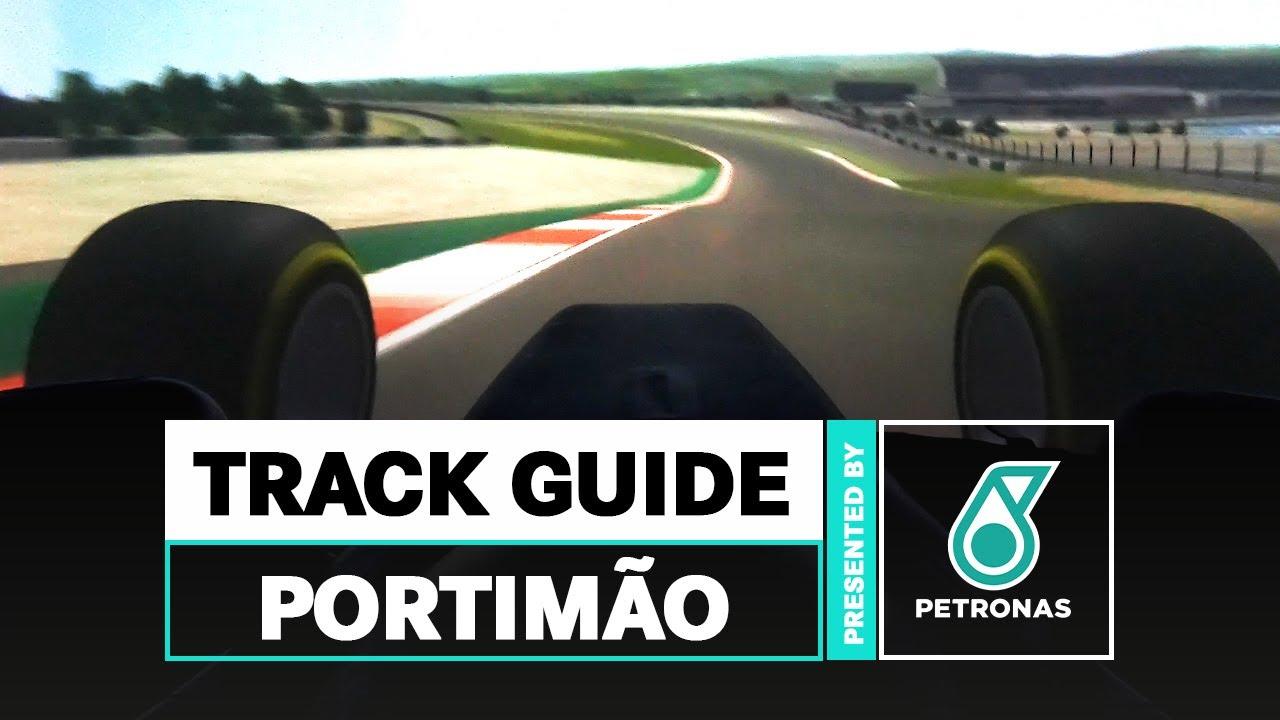 Volta virtual de F1 ao AIA