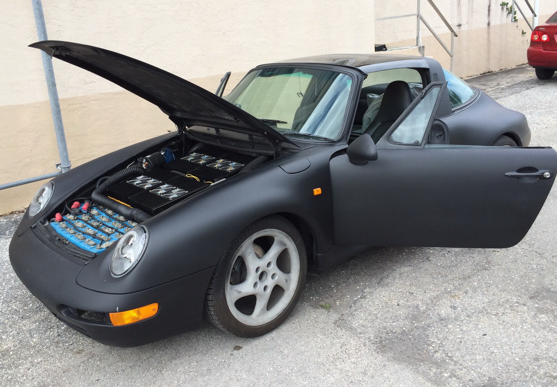 Porsche 911 Targa elétrico Janney