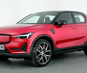 Render do Volvo XC20