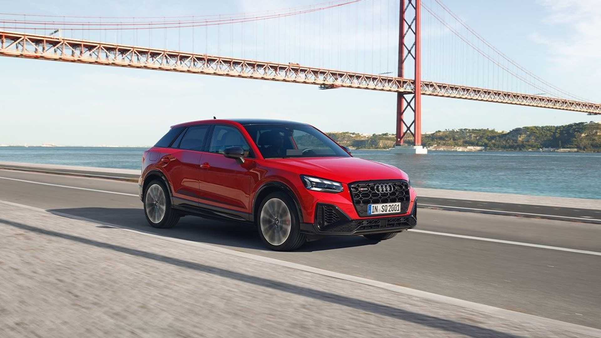 Audi SQ2 facelift